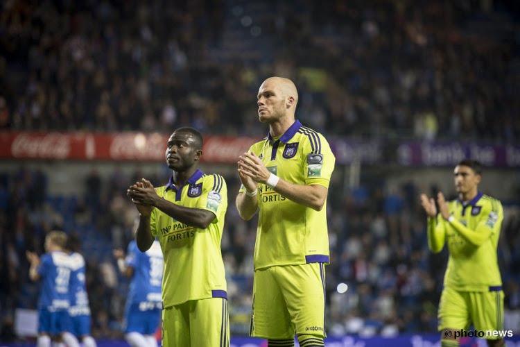 """La défense d'Anderlecht pointée du doigt: """"Ce soir, nous avons des circonstances atténuantes."""""""