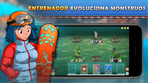 Monster Battles: TCG  trampa 1