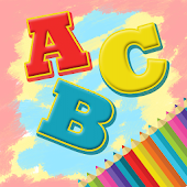 ABC Coloring Book Game Kids