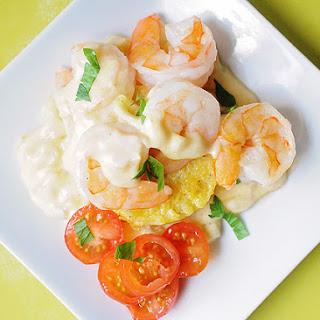 Creamy Shrimp and Polenta