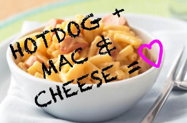 #1 Hotdog Mac & Cheese Recipe