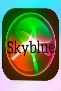 skyblue - náhled