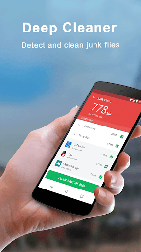Free Phone Cleaner - Cache clean & Security 6.0 screenshots 1