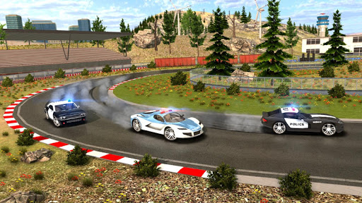 Police Drift Car Driving Simulator 1 screenshots 16