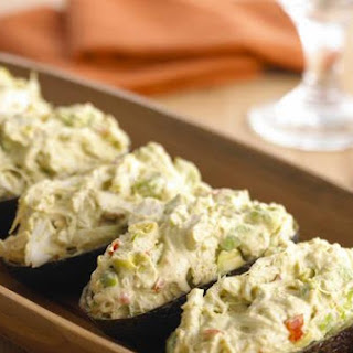 Pepper Medley Crab and Avocado Salad
