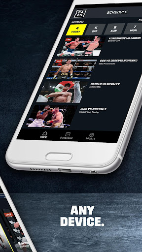 DAZN Live Fight Sports: Boxing, MMA & More 1.69.0 screenshots 2
