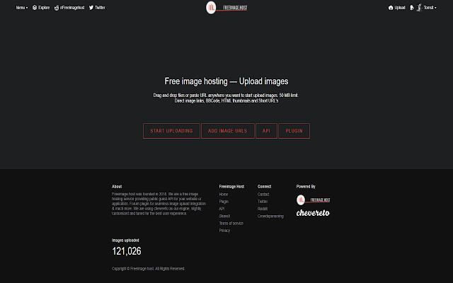 Freeimage.host Image Uploader