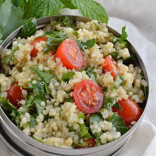 Quinoa Tabouleh Salad.