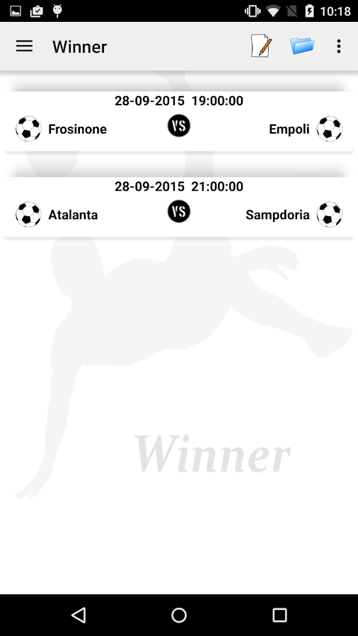Winner - Scommessa vincente- screenshot