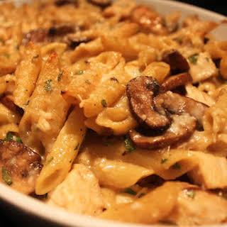 Chicken Mushroom Marsala Pasta.
