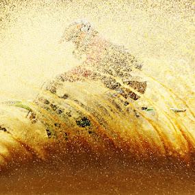 water curtain by Senna Ayd - Sports & Fitness Motorsports ( water, mud, moto, wave, auto, cross )