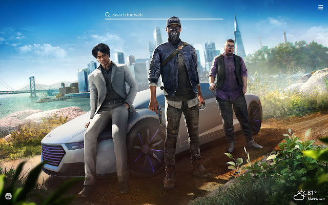 Watch Dogs 2 Hd Wallpaper New Tab Theme