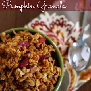 Gluten-Free Pumpkin Granola.