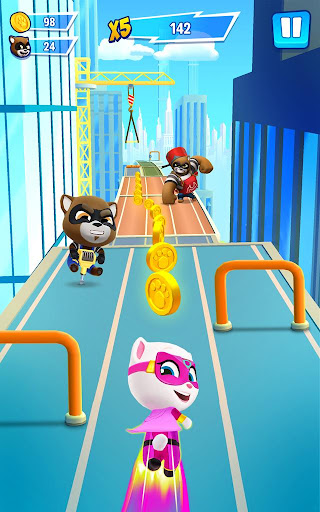 Talking Tom Hero Dash - Run Game  screenshots 8