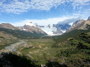 Photo: View of Cerro Torre in the far back right. This has to be one of the most epic views in all of my trip.