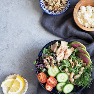 Kale, White Bean and Tuna Salad.