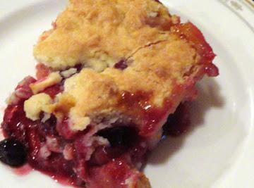 Jumbleberry Cobbler Recipe