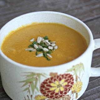 Spicy Carrot Sunflower Soup Recipe