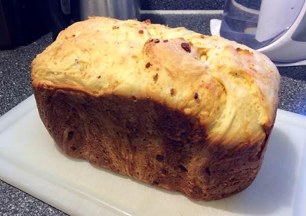 Bacon, Cheddar And Onion Bread (abm)
