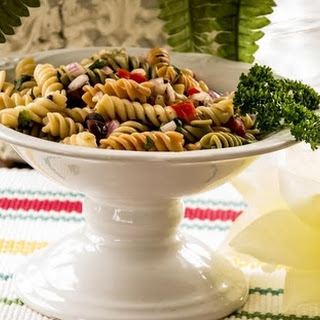 Tri-Colored Pasta Salad