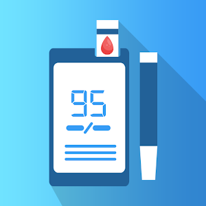 Blood Sugar Diary Health Tracker 1.3 (Pro) by Visionary Labs logo