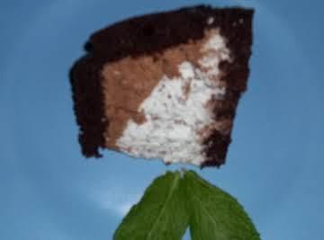 Mint Cream Dream Cake