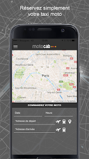 Motocab taxi moto- screenshot thumbnail