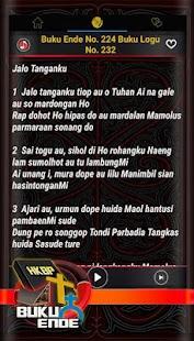 Buku Ende HKBP Bahasa Batak - náhled
