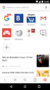 Opera browser - news & search- screenshot thumbnail