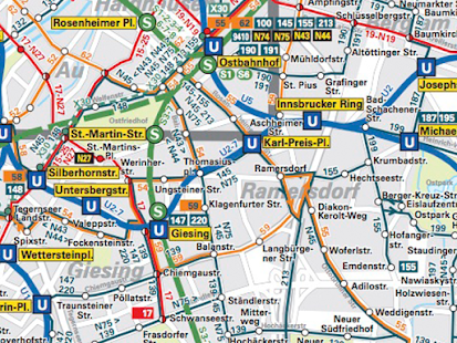 Munich Map - náhled