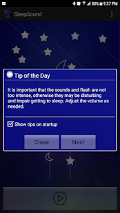 SleepSound - náhled