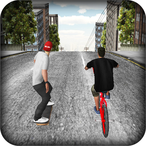 SKATE vs BMX 3D