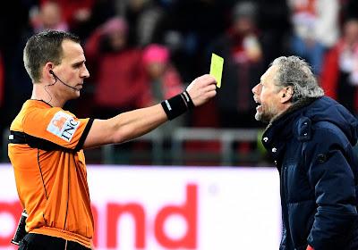 """Michel Preud'homme suspendu pour le derby wallon face au Sporting de Charleroi : """"Je suis plus spontané"""""""