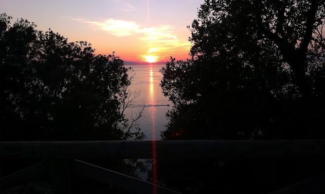 Tramonto all'Elba di Lobo77