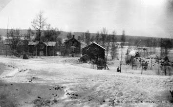 Photo: Dammen vy från Åsbacken 1920-tal
