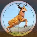 Deadly Animal Hunting Game: Sniper 3D Shooting icon