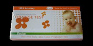 Orange Test แบบหยด (90 บาท)