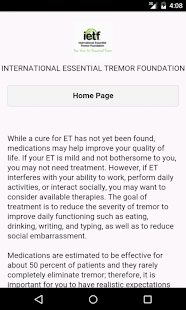 Essential Tremor- screenshot thumbnail
