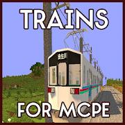 Trains for MCPE Mod
