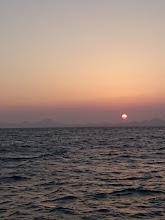 Photo: 日の出もだんだん遅くなってます。