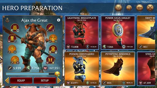 Olympus Rising: Tower Defense and Greek Gods apkmind screenshots 5