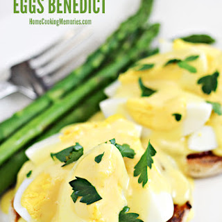 Hard Boiled Eggs Benedict.