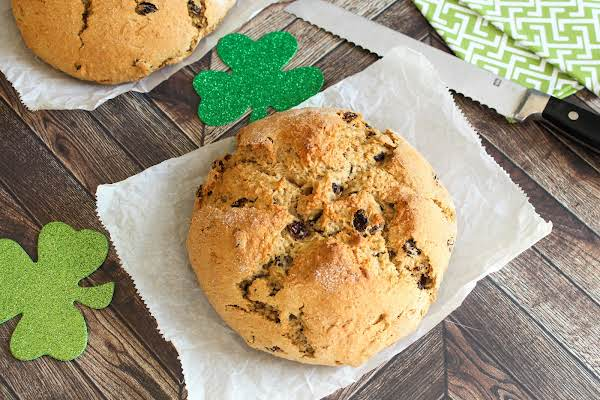 A Loaf Of Deluxe Irish Soda Bread.