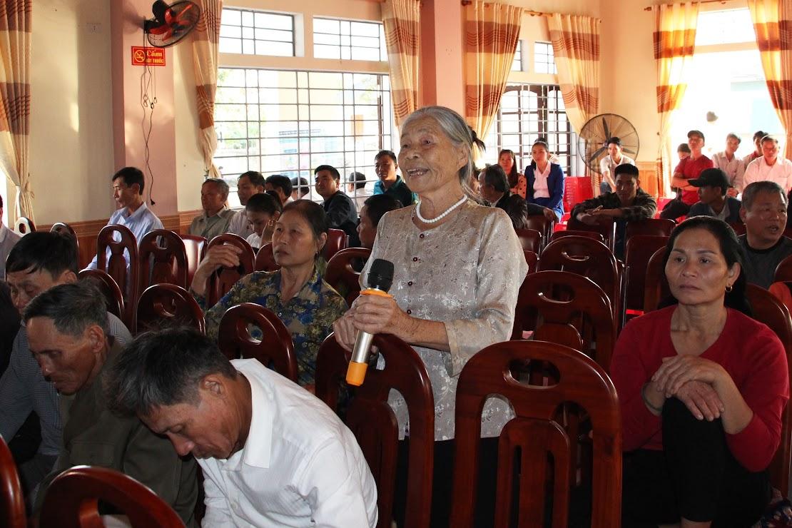 Nhiều người dân yêu cầu giữ lại đường dân sinh xóm 1 đi xóm 6 và giữ lại tuyến kênh Long Thuận