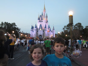 Photo: The fourth and final park of the day was Magic Kingdom