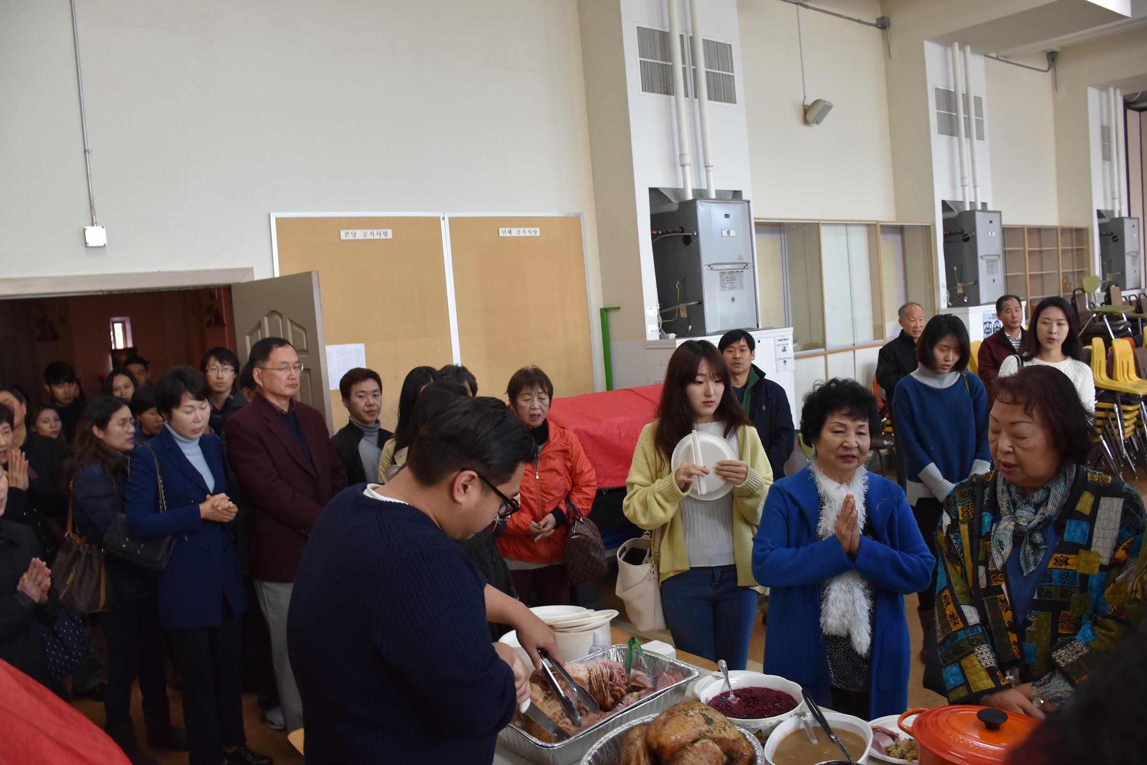 2018 추수 감사절 미사 & 점심만찬 11월 22일