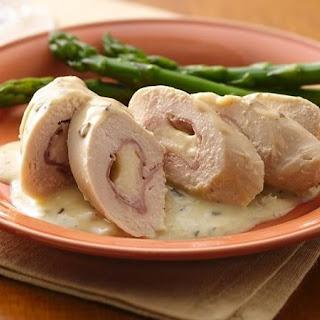 Slow-Cooker Cordon Bleu Chicken Rolls