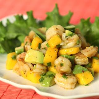 Smoky Shrimp, Avocado & Mango Salad