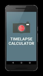 TimeLapse Calculator PRO - náhled