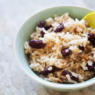 Jamaican Rice and Peas.